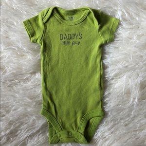 Daddy's Little Guy Onesie ⭐️